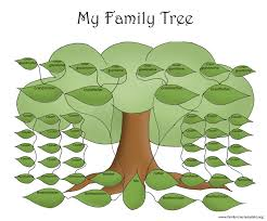 free template for organizational chart family tree template resources big green family tree to fill out