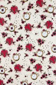 floral gift wrapping paper tattoo gift wrapping paper sheet sourpuss clothing
