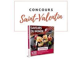 smartbox cuisine du monde e leclerc bressuire concours valentin 1 smartbox