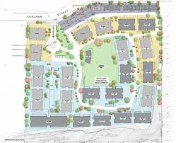 mixed urban residential community for industrial site fairlawn