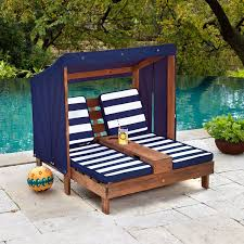 Child Patio Chair by Double Chaise Lounge Outdoor Furniture Tehranmix Decoration