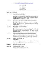 structural engineer resume sample civil engineering cv template