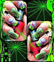 138 best halloween nail art images on pinterest halloween nail