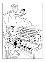 free colouring pages 101 dalmatians dalmation coloring pages