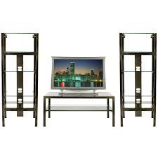 starlight home theater steel u0026 glass home theater display shelving u0026 table boltz steel
