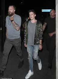 charlie puth jeans louisa johnson hits the town after confirming split daily mail online