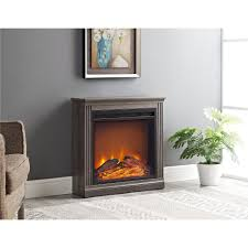 brown fireplace tv stands electric fireplaces the home depot