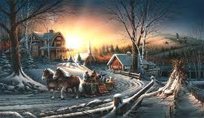 terry redlin the pleasures of winter world wide art