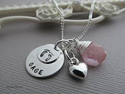 necklace with baby name silver jewelry sterling silver jewelry from israel lovely