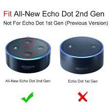 fintie amazon echo dot case fits echo dot 2nd generation only