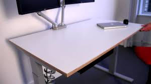 Workfit D Sit Stand Desk by Elegant Electric Standing Desk Sit Stand Com Youtube