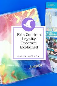 erin condren loyalty program and coupon codes the magical wife