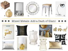 inspired whims on trend metallic accents are everywhere