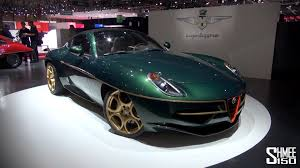 up close touring disco volante in green at geneva 2014 youtube