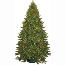 general foam 9 ft pre lit carolina fir artificial tree