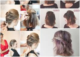 Sch E Frisuren Zum Selber Machen Bilder by Schöne Kurzhaarfrisuren Selber Machen Männer Für Mädchen Haar