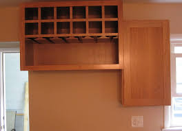 Kitchen Cabinet Wine Rack Ideas Built In Wine Rack Kitchen Cabinet Home Design Ideas