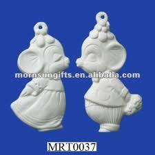 ceramic bisque mice ornament buy mice ornament unpainted bisque