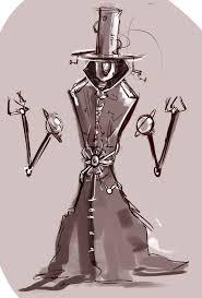 alien sketches 4 robot hat salesman by kvernikovskiy on deviantart