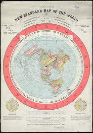 World Map Longitude by The Earth Is Not Flat Gleason U0027s Map