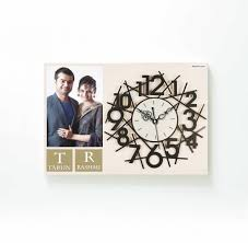 personalized picture clocks 15 collection of personalised wall clocks india