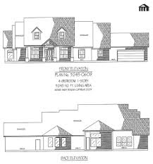 3248 0609 square feet 4 bedroom 1 story house plans