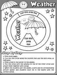 the weather worksheet 1 page 1 b u0026w version funtastic