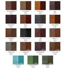 Stain Color Chart Concrete Coating Color Chart Resource Building Materials