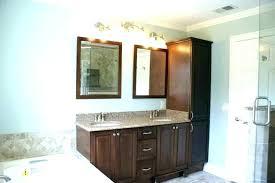 bathroom vanity and linen cabinet combo vanity linen cabinet combo white linen cabinet for bathroom small
