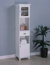 Tall Bathroom Storage Cabinet by Gorgeous White Bathroom Storage Cabinets Tall White Bathroom