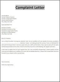 complaint letter template jvwithmenow com