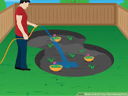 How To Build A Fish Pond In Your Backyard How To Build Your Own Fishing Pond 8 Steps With Pictures