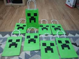 minecraft goody bags minecraft party search kids minecraft