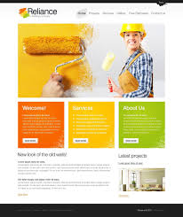 popular water company website template
