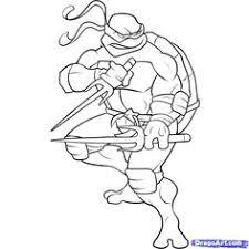 coloriage tortue ninja ninja turtles stenciling