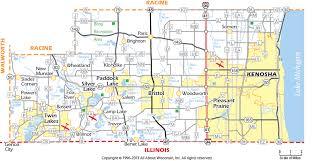 kenosha map kenosha county wisconsin map