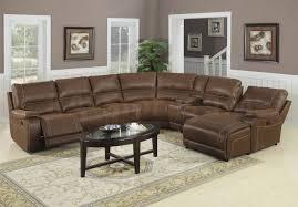 Modular Reclining Sectional Sofa Sofa Living Room Sectionals Reclining Sectional Leather