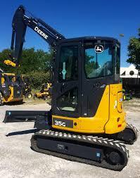 2016 john deere 35g track excavator with heat u0026 air cab for sale