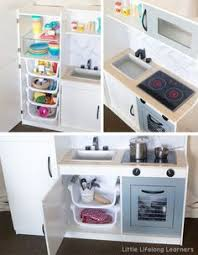 diy play kitchen ideas kmart kitchen hack for kids diy play kitchen toy kitchen and