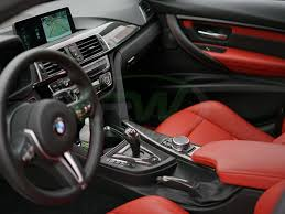 Bmw M3 Interior Trim Carbon Fiber Alcantara Shift Console Trim Bmw F80 M3 F82 F83 M4