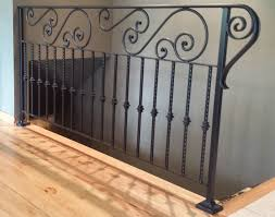 decorative railings iron