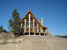 chalet style homes log home photos rustic chalet home tour expedition log homes llc
