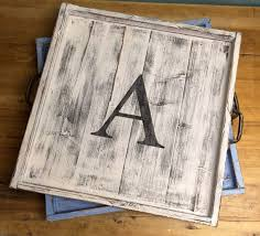 monogrammed serving trays 237 best trays personalize it images on home