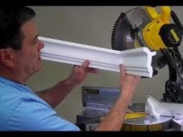 How To Cut Crown Moulding For Kitchen Cabinets How To Cut An Inside Crown Molding Corner By Creative Crown Youtube