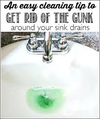 how to clean bathroom sink drain pipes best way to clean bathroom sink drain a super quick tip for getting