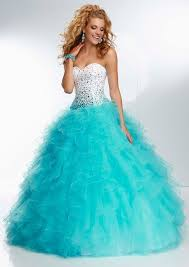 blue puffy prom dresses discount evening dresses