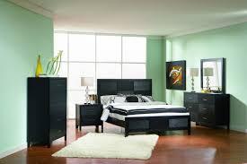 Larimer Upholstered Bedroom Set Coaster Grove Panel Bedroom Set In Black 201651