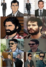 Sterling Archer Meme - henry cavill is exactly like sterling archer sterling archer