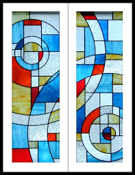 stained glass cupboard doors contemporary stained glass cabinet doors