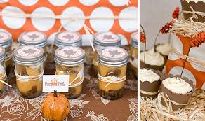 fall bridal shower ideas fantado regular clear jar 16oz 1 pint bridal